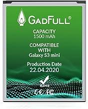GadFull Batería de reemplazo para Samsung Galaxy S3 Mini | 2020 Fecha de producción| Corresponde al Original EB-F1M7FLU| Compatible con Galaxy Ace 2 i8160| S3 Mini i8190| Galaxy S Duos S7562