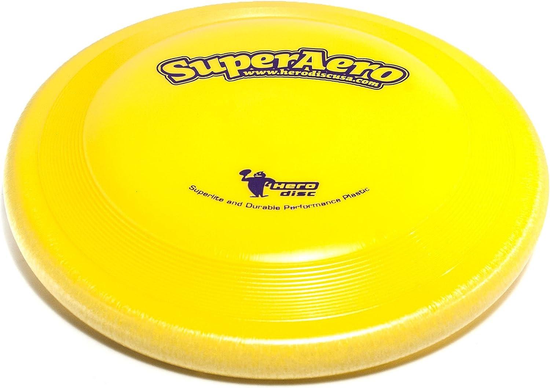 Product Save money Hero Super Aero Starlite Flying - Sport Chartreuse Disc Dog