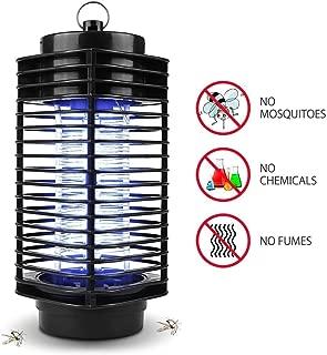 iweed Lámpara Mata Mosquitos Electrico Mata Moscas Insectos