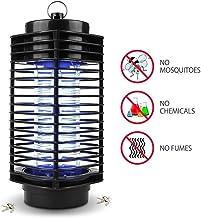 iweed Lámpara Mata Mosquitos Electrico Mata Moscas Insectos Polillas Control de Insectos Lámpara Antimosquitos Interior y Exterior