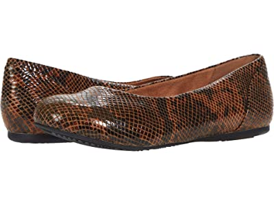 SoftWalk Sonoma (Brown Snake Leather) Women