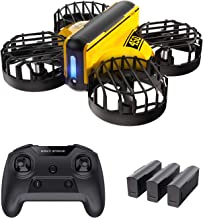 Holy Stone HS450 Small Indoor Mini Drone for Kids, Beginners, Gesture Control, Obstacle Avoidance, Hovering Mode, 3 Batteries, Headless Mode, Super Stable, Altitude Hold, 2.4 GHz, 4CH Multicopter, Tumbling, Mode 1/2 Free Conversion, Domestic Certified