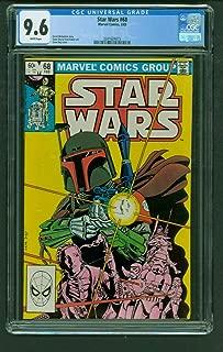 Star Wars 68 CGC 9.6 White classic Boba Fett cover Marvel Comics 1983