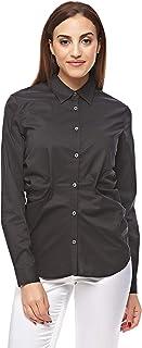 Pierre Cardin Shirts For Women, Black 38 EU