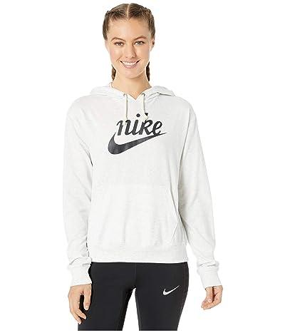 Nike NSW Gym Vintage Hoodie HBR (Birch Heather/Off-Noir) Women