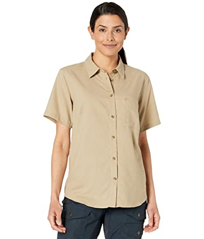 Fjallraven Ovik Travel Short Sleeve Shirt Women