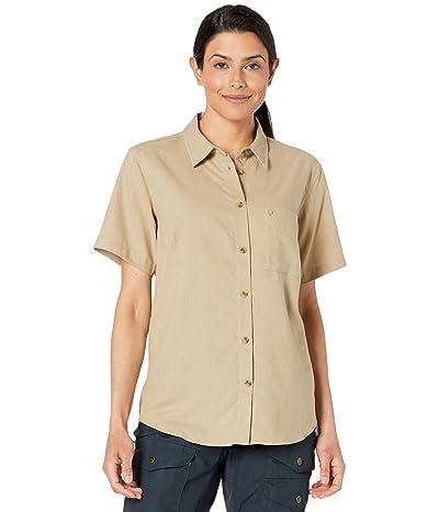 Fjallraven Ovik Travel Short Sleeve Shirt