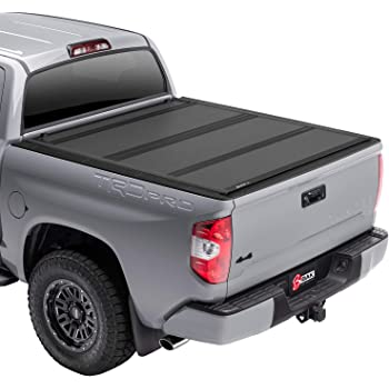 BAK BAKFlip MX4 Hard Folding Truck Bed Tonneau Cover | 448426 | Fits 2016-20 Toyota Tacoma, w/OE track system 5' Bed