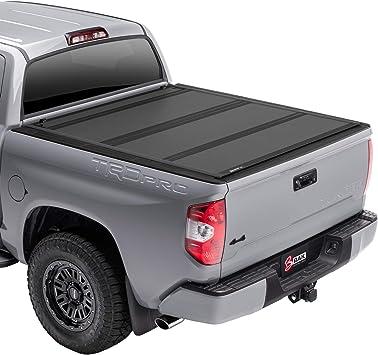 Amazon Com Bak Bakflip Mx4 Hard Folding Truck Bed Tonneau Cover 448410t Fits 2007 2021 Toyota Tundra W Oe Track System 6 7 Bed 78 7 Automotive