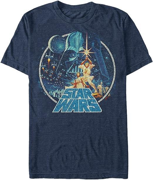 1. Star Wars Men's Vintage Victory Graphic T-Shirt