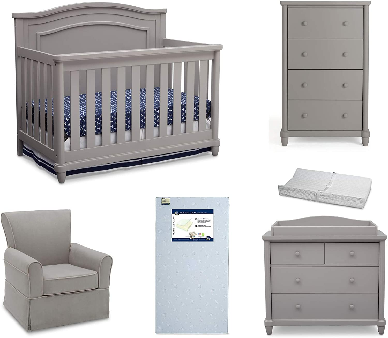Simmons Kids Belmont 6-Piece Nursery C Furniture Set Gorgeous Includes: Sale item
