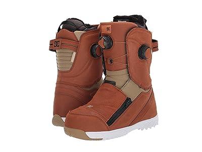 DC Mora BOA(r) Snowboard Boots (Brown) Women