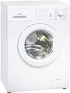 Exquisit Waschmaschine WM 6910-10   Frontlader  6 kg Fassungsvermögen  weiß