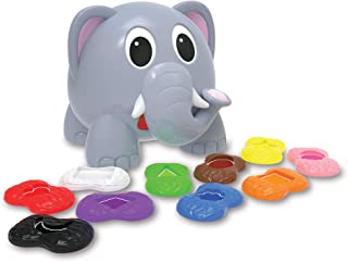 The Learning Journey - Learn With Me, Shapes Elepha, Multi-Colour, 345207