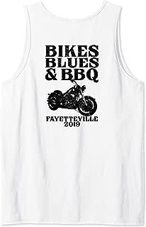 Fayetteville Arkansas Biker Rally Festival Bikes Blues BBQ Tank Top