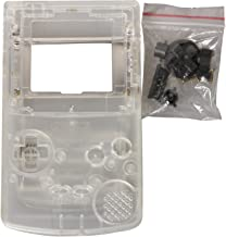 eJiasu Full Replace Parts Housing Shell Pack for Nintendo GBC Gameboy Color (Transparent Case 10PCS)