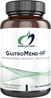 Designs for Health GastroMend HP - Gut Mucosa + Microbial Balance Support Supplement with Mastic Gum, DGL Licorice + 'Vita...