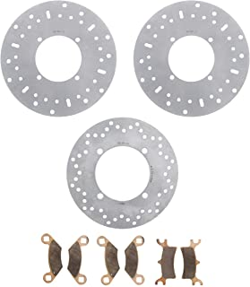 2014 Polaris Sportsman Big Boss 800 6X6 Front & Rear Brake Rotors & Brake Pads