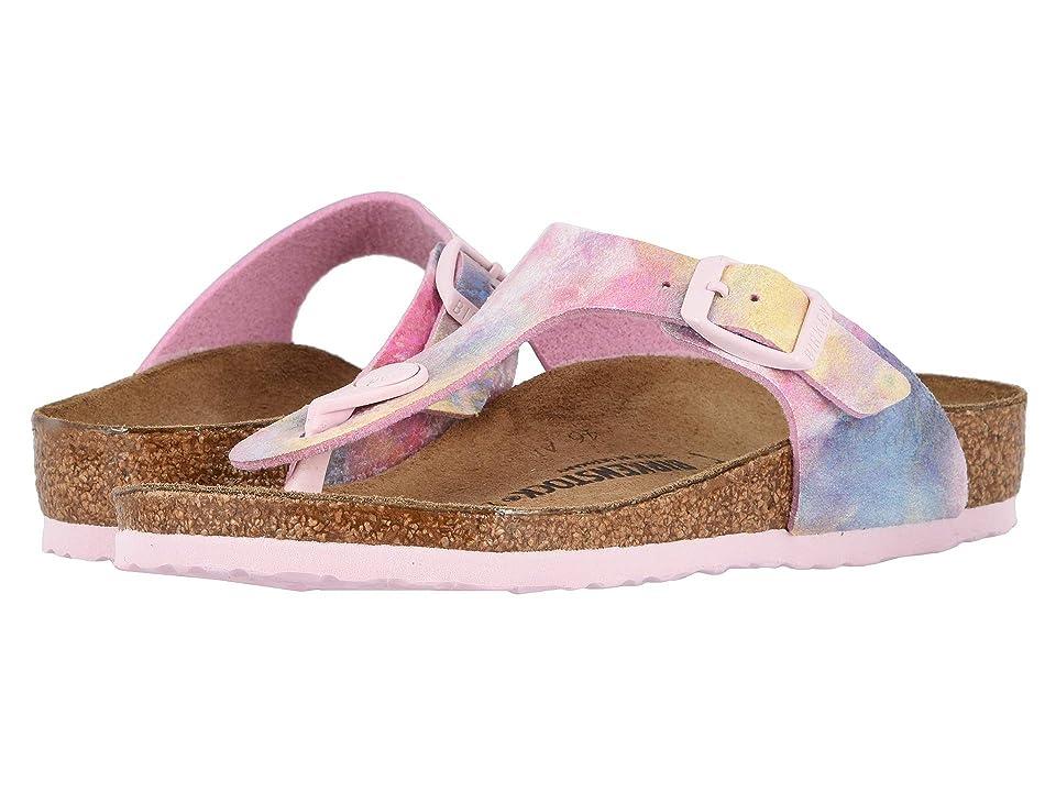 Birkenstock Kids Gizeh (Little Kid/Big Kid) (Water Color Multi) Girls Shoes