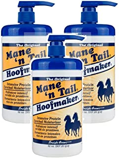 Mane'n Tail Hoofmaker Hand & Nail Moisturizer Therapy 32 oz (Pack of 3)