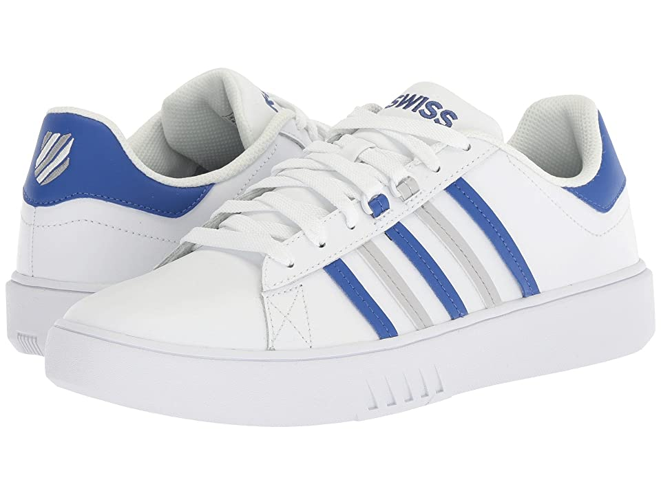 K-Swiss Pershing Court CMF (Whiet/Deep Ultramarine/Vapor Blue) Men
