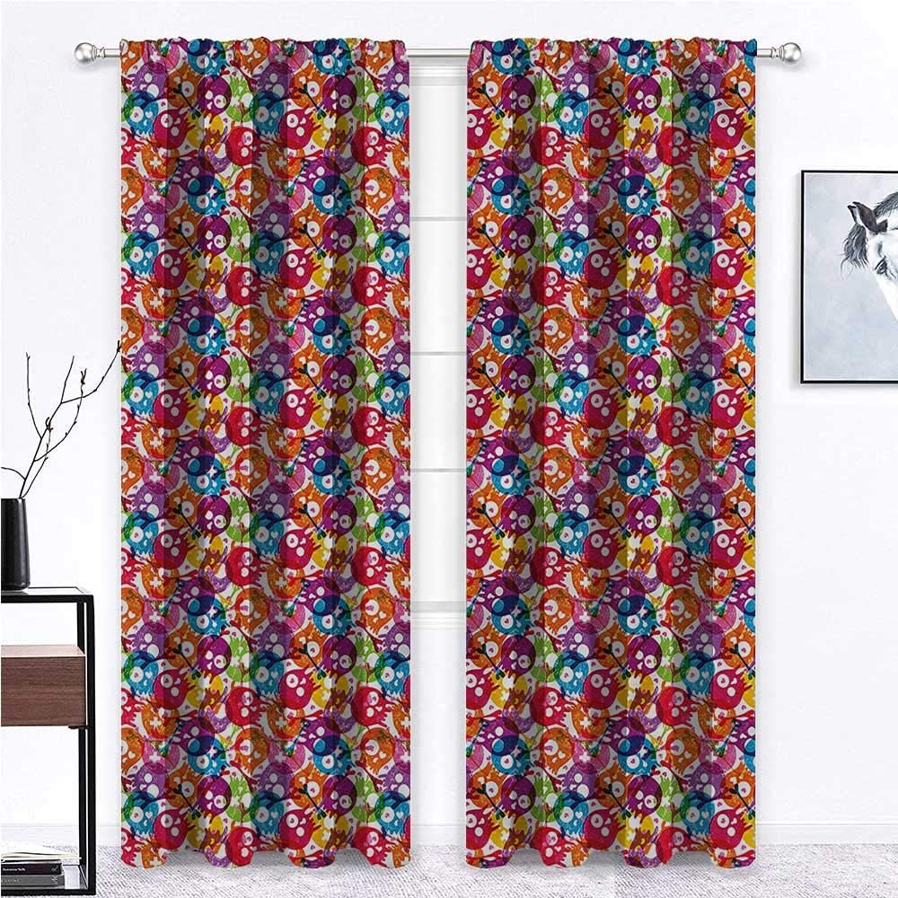 Outdoor Curtains for Online limited product Sales Patio Waterproof C Skull Room Gathering
