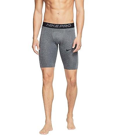Nike Nike Pro Shorts Long (Dark Smoke Grey/Particle Grey/Black) Men