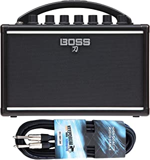 Boss Katana - Amplificador para guitarra y cable keepdrum (3 m)