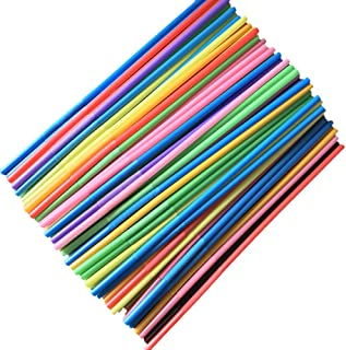 Clearance, 100pcs Multicolor Disposable Drinking Straws Home Bar Party Cocktail Drink Straw by Little Story