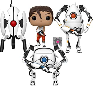 Funko Pop! Games: Portal 2 Collectible Vinyl Figures, 3.75
