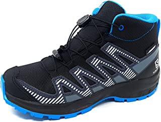 Salomon XA PRO 3D V8 Mid CSWP Unisex Kinder Wasserdichte Trailrunning Wander-Schuhe