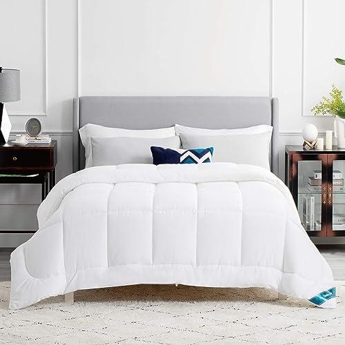 Bedsure Edredon Cama 150 Invierno - Relleno Nordico 240x220 cm de 450 gr/m² para Cama Matrimonio 150x200, Fibra Suave...