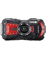 RICOH 防水デジタルカメラ RICOH WG-60 レッド 防水14m耐ショック1.6m耐寒-10度 RICOH WG-60 RD 03831