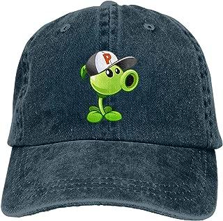 LeoBird Peashooter Costume Men 100% Cotton Cowboy Hat Adjustable Unstructured Hat Fashion Baseball Cap