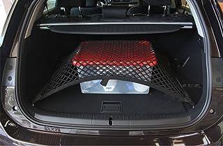 Accessoires auto pegasuss Noir en maille filet Organiseur de coffre de rangement Cargo Net SUV au sol pour BMW X5 Auto et Moto