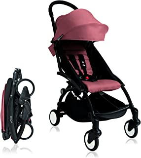 BabyZen 2016 Yoyo plus Stroller Bundle - Black Frame plus Color Pack in Ginger