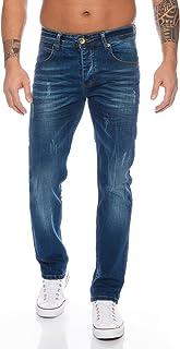 Rock Creek Pantalons Jeans pour Hommes Regular Fit M2A