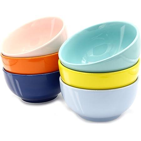 Set of 2 OverSized Farmhouse Bowls Stoneware Kitchen Dishwasher//Oven//Freeze Safe