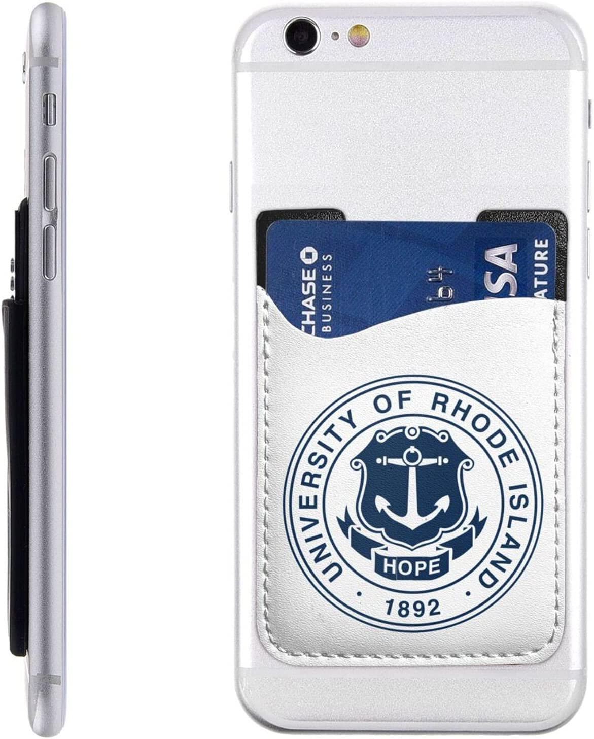 University of Rhode Island Cell Phone Stick-On Holder Id Card 5 ☆ popular Max 89% OFF Cr