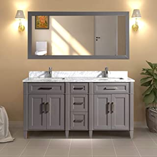 Best 60 inch vanity right side sink Reviews