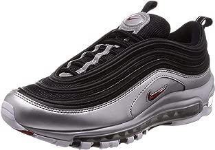 Nike Men's Air Max 97 QS, Black/Varsity RED