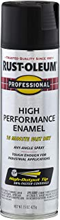 Rust-Oleum 7578838 – 6 PK Professional High Performance Enamel Spray Paint, 15 oz,..