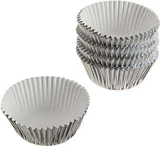 Wilton Silver Foil Baking Cups, Mini, 80-Count