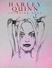 Harley quinn coloring book: Harley Quinn Coloring Book for Adults, Activity Book, Great Starter Book with Fun, Easy, and Relaxing Coloring Pages - 50 Pages - 8.5