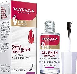 Mavala Nail Top Coat, Gel Finish, 0.3 Ounce