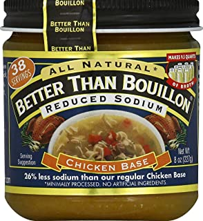 "Better Than Bouillon Reduced Sodium ""Roasted"" Chicken Base, 8 Oz"