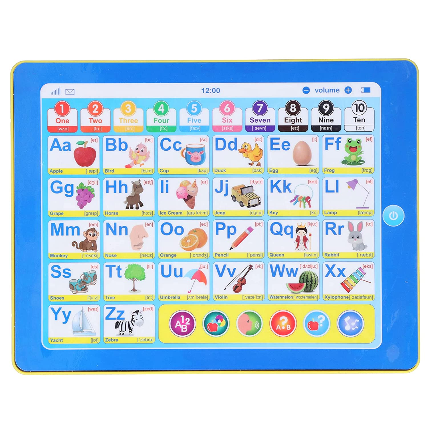 Kids Tablet Electronic Ranking TOP1 Learning Toys English Classic for