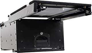 Overland Vehicle Systems Cargo Box With Slide Out Drawer & Working Station Size - Black Powder Coat Universal