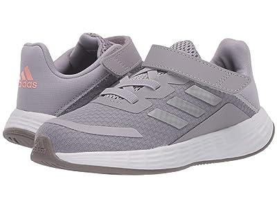 adidas Kids Duramo SL (Infant/Toddler) (Glory Grey/Silver Metallic/Light Flash Orange) Girls Shoes