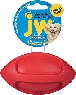 jw football dog toy